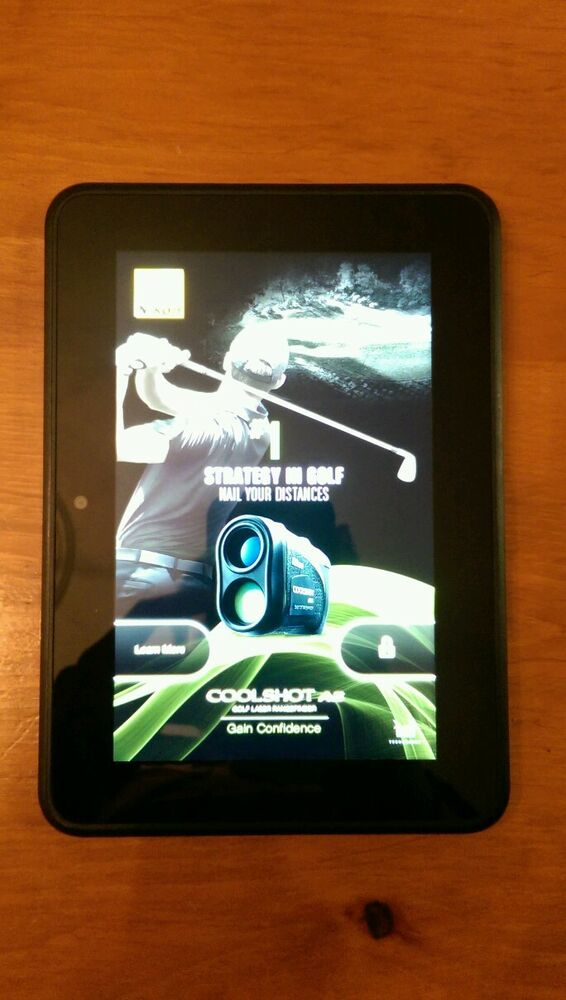 Amazon Kindle Fire HD 16GB Wi-Fi 7in Color eReader Tablet ...
