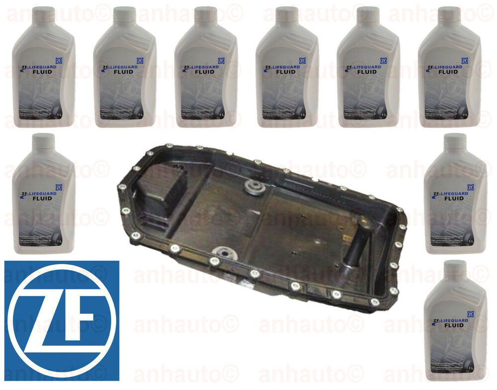 Oem Zf Automatic Transmission Filter Kit Amp Oil Pan With 9