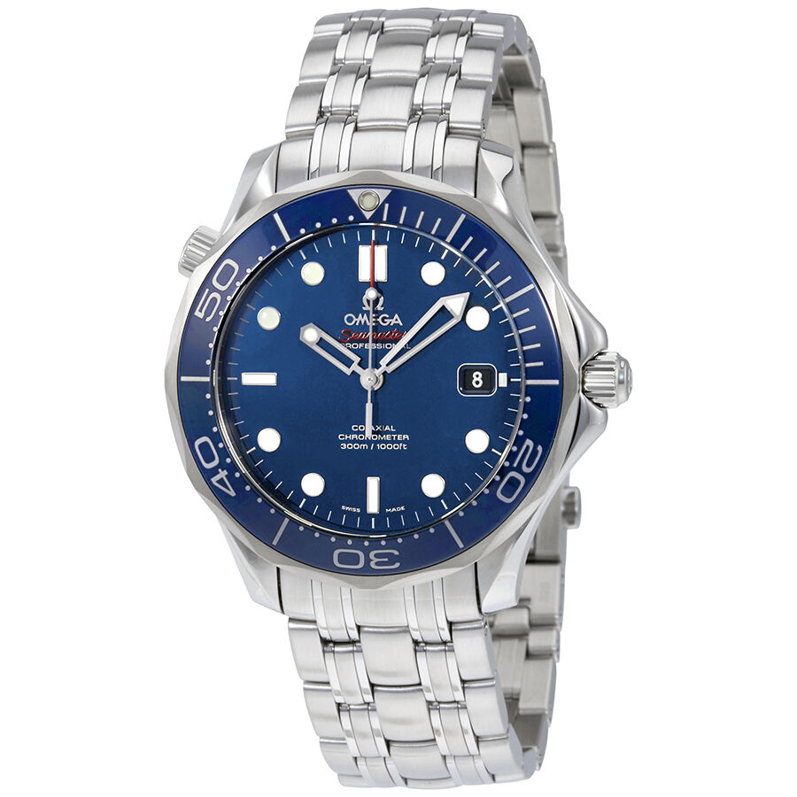 Omega Seamaster Stainless Steel Mens Watch 212.30.41.20.03 ...