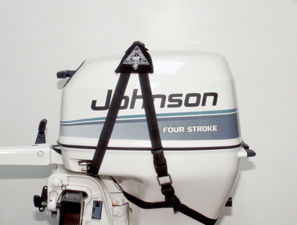 outboard motor hoist lifting harness strap honda yamaha On outboard motor lifting strap