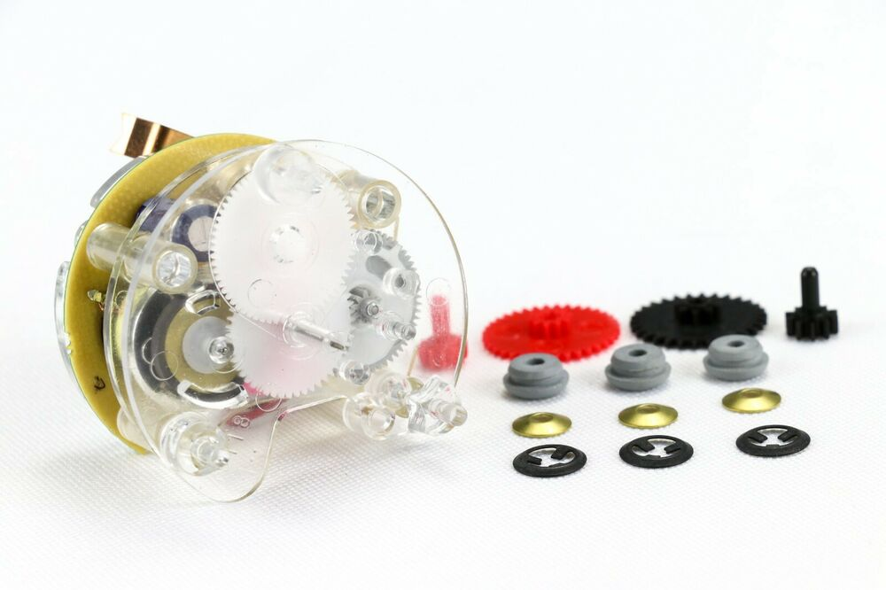 1963 1982 Corvette Quartz Clock Conversion Rebuild Kit