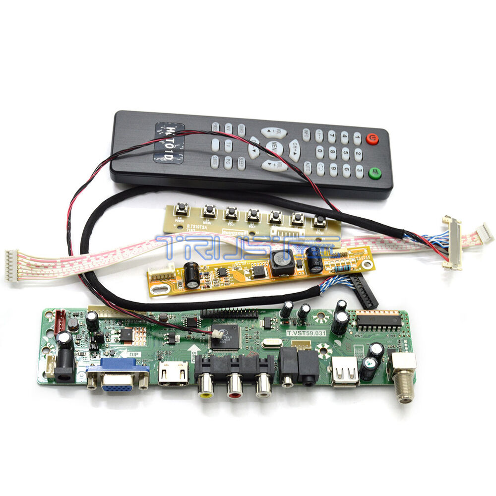 lcd controller board kit hdmi tv for au optronics 24 monitor m240hw01 vb ebay. Black Bedroom Furniture Sets. Home Design Ideas