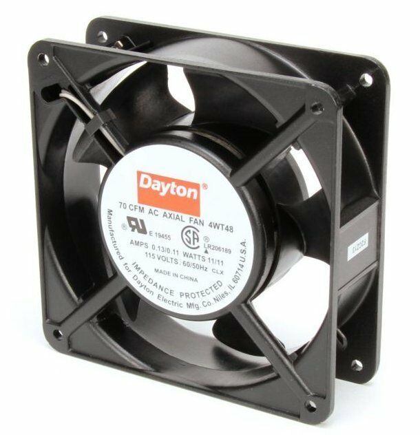 Dayton Industrial Fans And Blowers : Dayton axial fan volts ac watts cfm model
