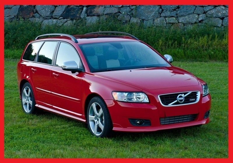 VOLVO V50 after facelifting ( 2007 - 2012 ) R-DESIGN - FULL BODY KIT !! NEW !! | eBay