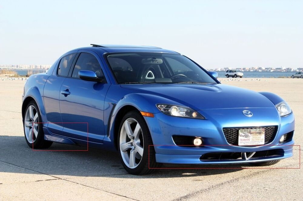 mazda rx8 rx 8 body kit spoilers front rear side. Black Bedroom Furniture Sets. Home Design Ideas
