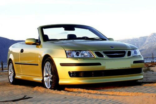 saab 9 3 93 convertible cabrio body kit spoilers. Black Bedroom Furniture Sets. Home Design Ideas