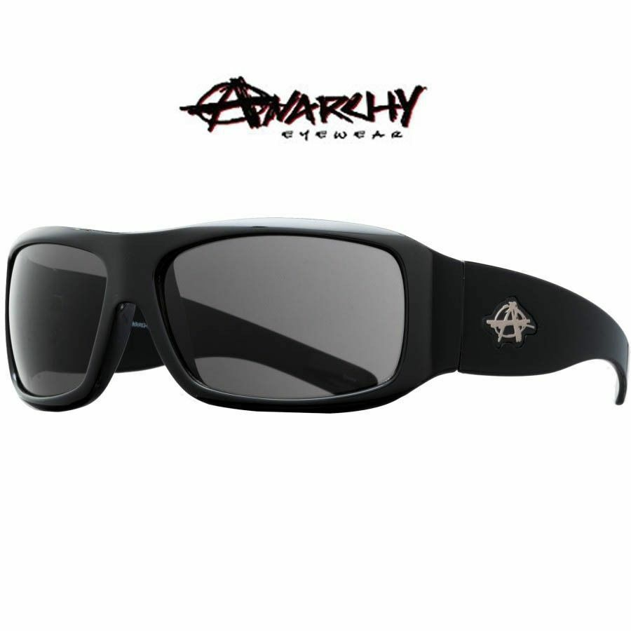 4d7ff030cf Details about NEW Anarchy Eyewear Consultant Sunglasses Black Smoke NWB RT   45 73€ Skate Surf