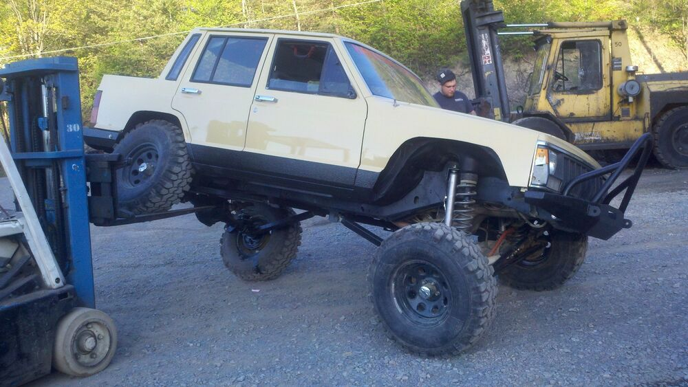 jeep cherokee xj long arm upgrade kit hardcore offroad llc. Black Bedroom Furniture Sets. Home Design Ideas