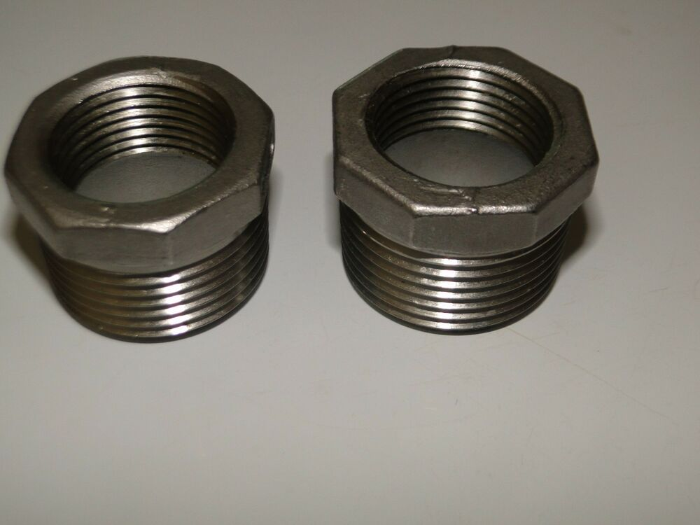 Stainless steel quot mpt fpt heavy duty hex