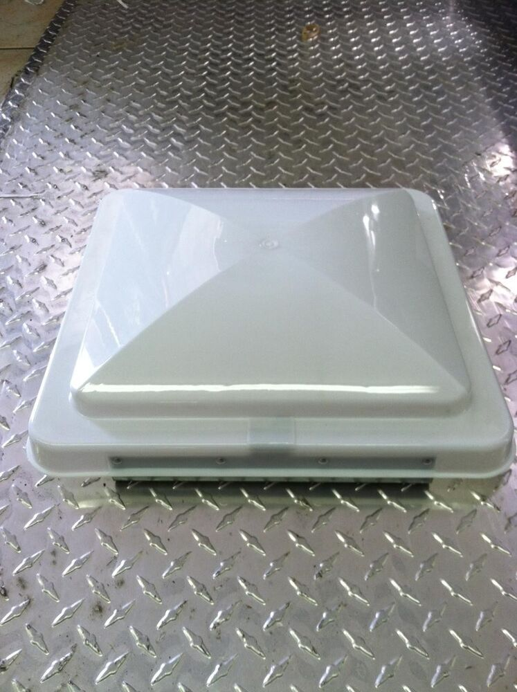 14 Quot X 14 Quot White Replacement Vent Lid For Enclosed Trailers