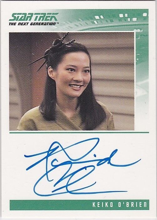 STAR TREK THE NEXT GENERATION QUOTABLE ROSALIND CHAO KEIKO ...
