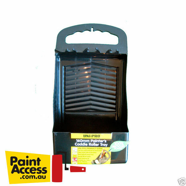 paint bucket uni pro painter 39 s caddie roller tray 160mm ebay. Black Bedroom Furniture Sets. Home Design Ideas