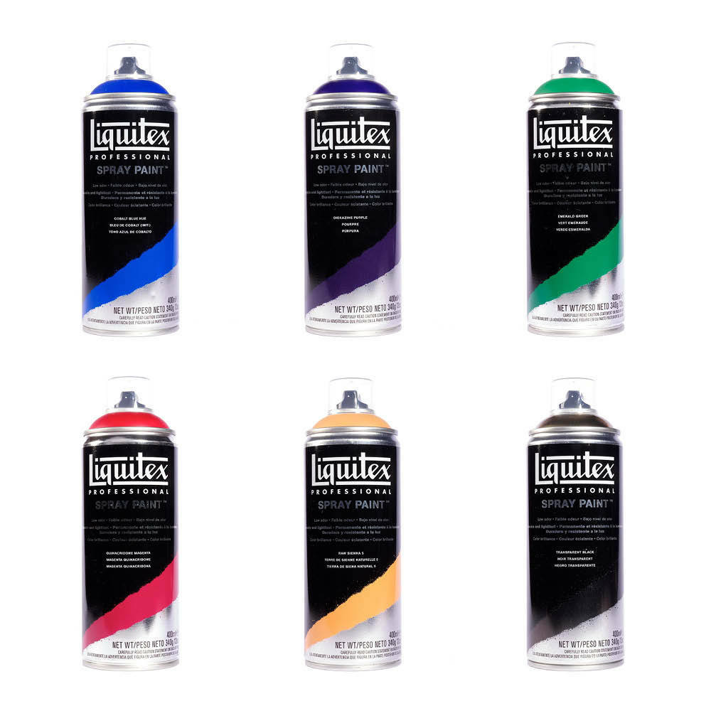Liquitex Professional Art Multi Surface Spray Paint 400ml 23 Colours Available Ebay