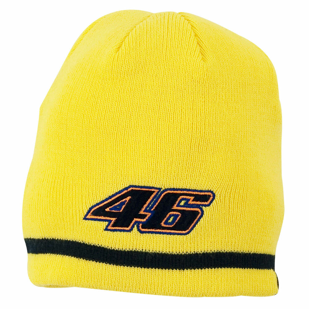 Details about VALENTINO ROSSI  VR46 KIDS YELLOW BEANIE HAT OFFICIALLY  LICENSED 1700ff60ae6