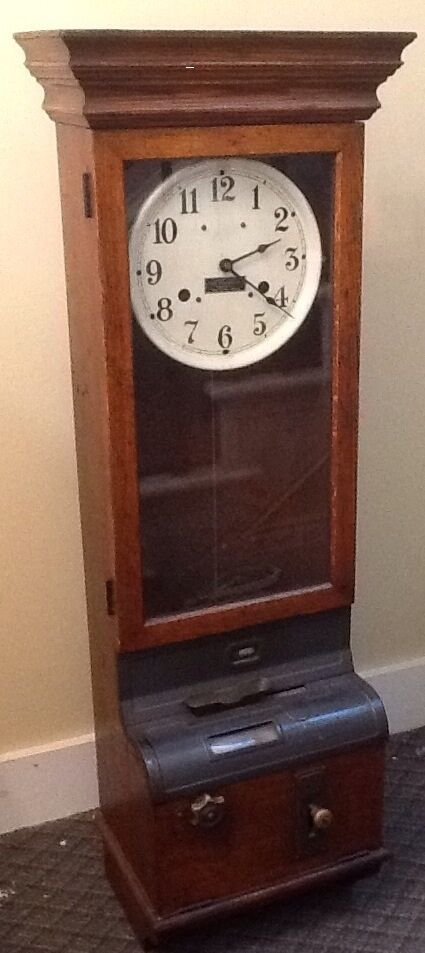 Vintage Garden State Timer Recorder Co Wall Punch