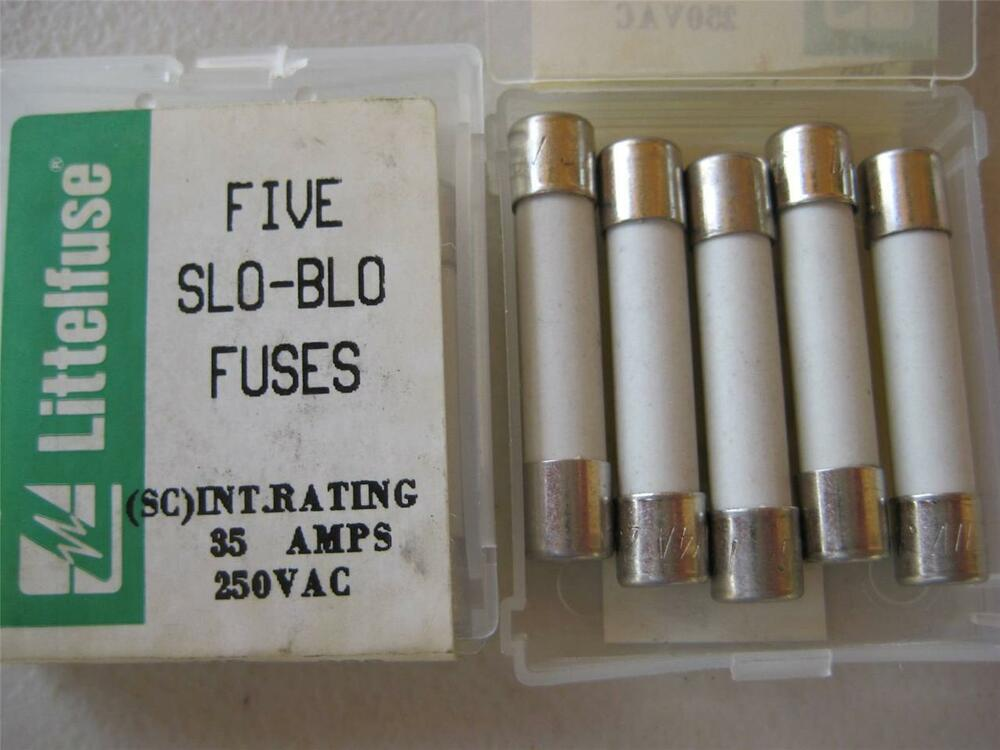 5x Littelfuse Fuse 326 1 4 1 2 6 10 3 4 1 1 1 2 2 Or 2 1 2