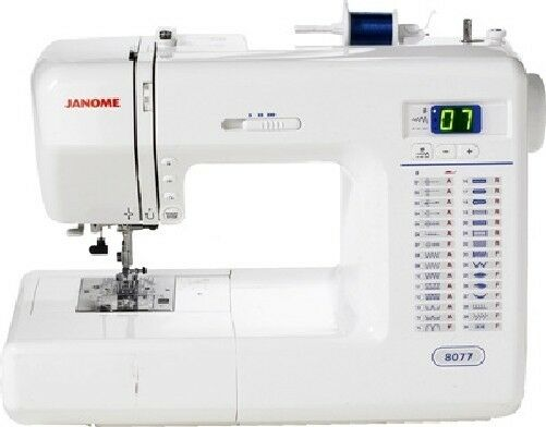 Janome 8077 sewing quilting machine with warranty ebay - Machine a coudre janome 8077 ...