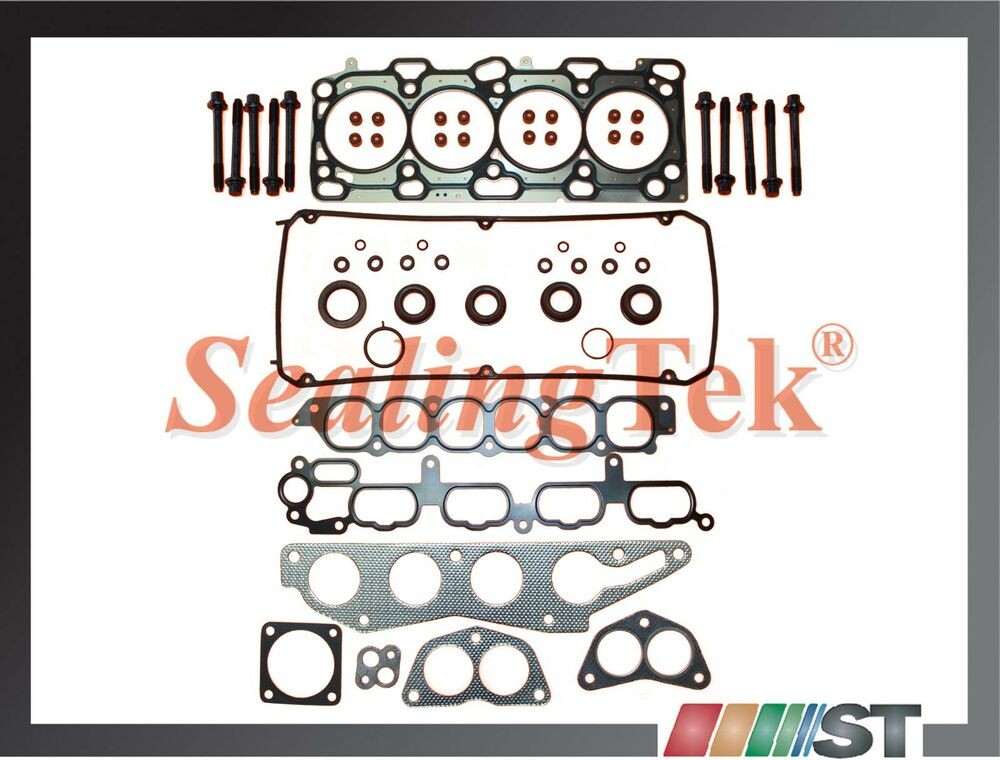 Eclipse Cutter Head besides 90 91 92 93 Toyota Celica Oem 1 6 4a Fe Camshaft Bearing Set besides 200215566 likewise How Unhook Wiring Harness On 02 Eclipse likewise 252737103489. on 99 eclipse cylinder head