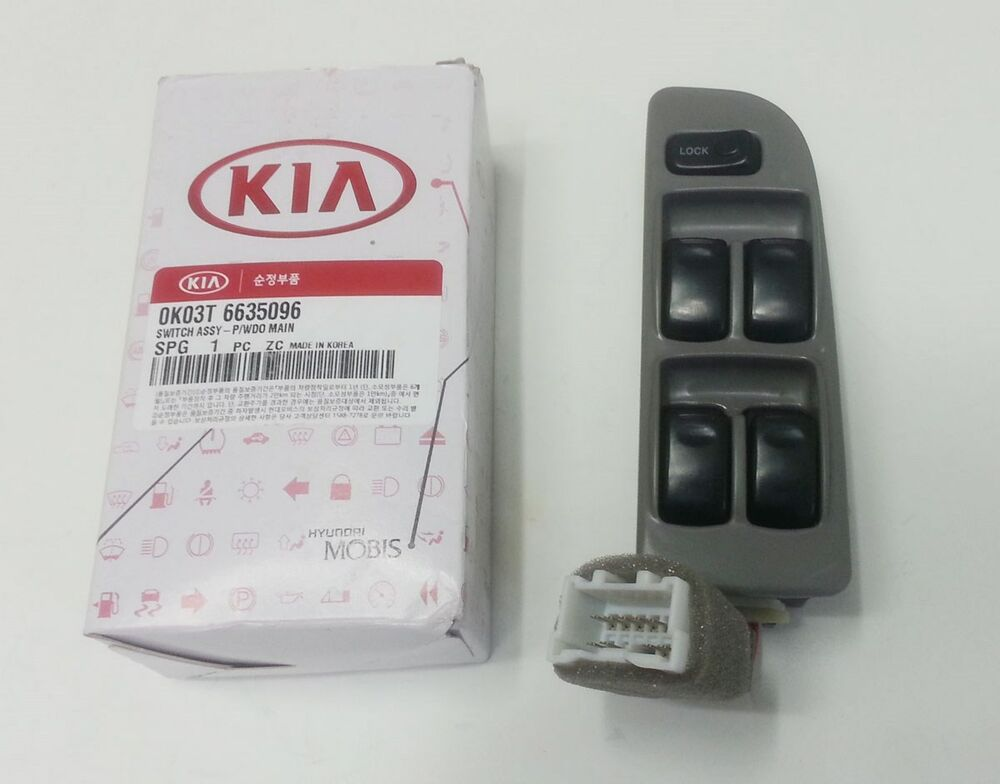 kia sportage 2000 2002 genuine oem window switch front
