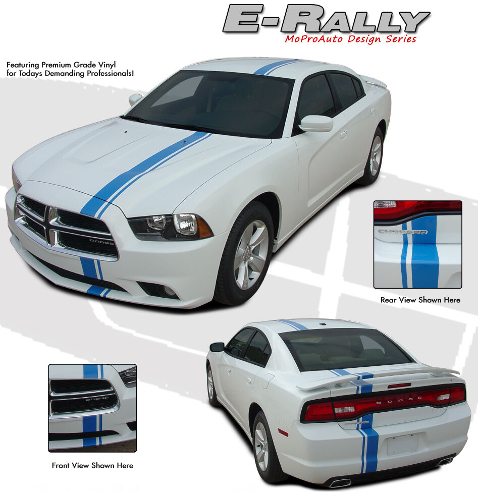 Euro Rally Offset Racing Stripe Decal 3m Vinyl Graphic 11