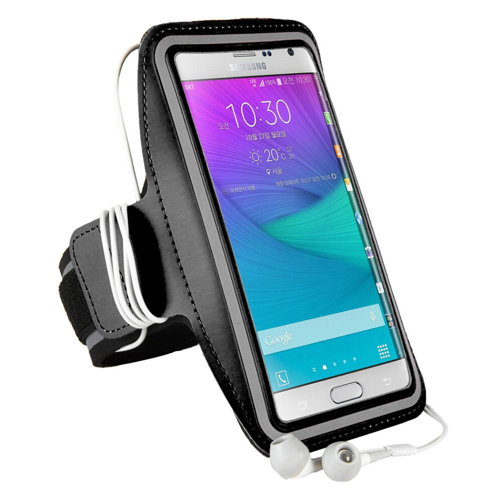 SumacLife Neoprene Sports GYM Armband Case for Samsung Galaxy Note ...