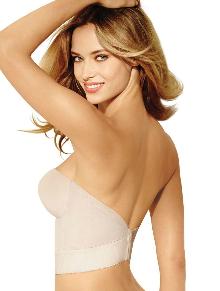 Wacoal 859119 Red Carpet Long Line Strapless Bra/Bustier Nude ...