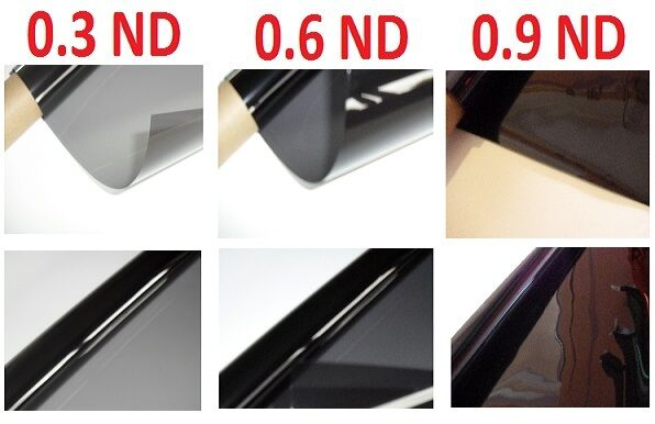 3 X Neutral Density Lighting Filter Gel Sheets 24 Quot X 24 Quot 0