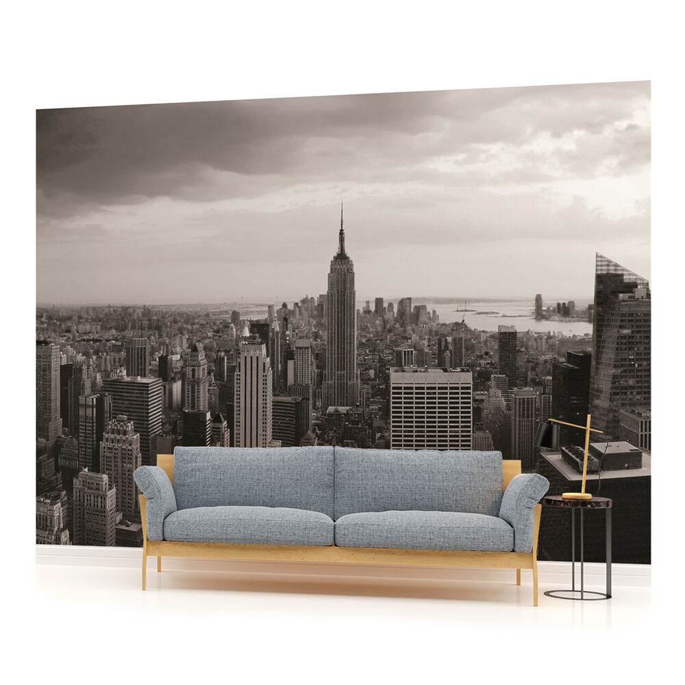 new york city urban photo wallpaper wall mural room 403pp ebay. Black Bedroom Furniture Sets. Home Design Ideas