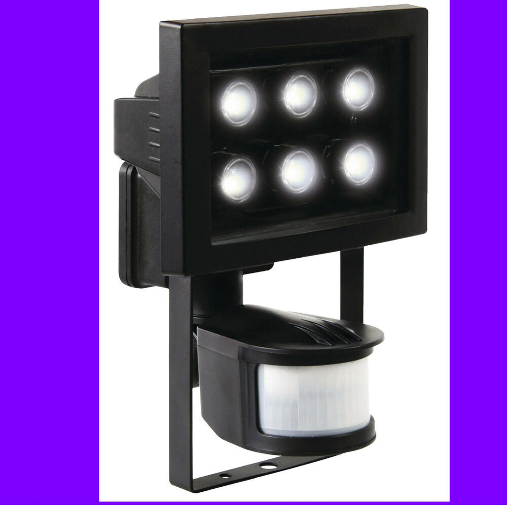 2 focos led de pared para exterior 6 led con sensor - Focos para interior ...