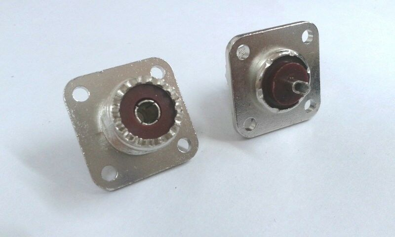 Pcs uhf female jack so panel chassis mount connector