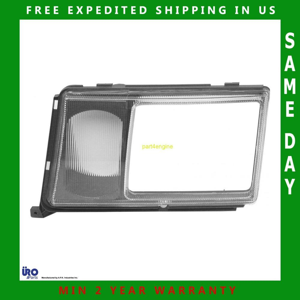Mercedes benz left drivers side headlight door for Mercedes benz 190e headlights