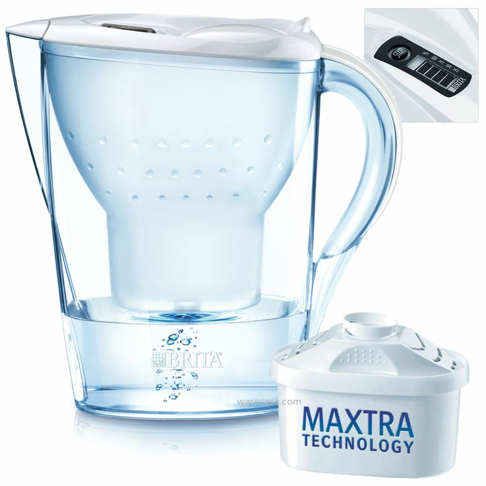 brita marella cool white home fridge jug with 1 maxtra. Black Bedroom Furniture Sets. Home Design Ideas