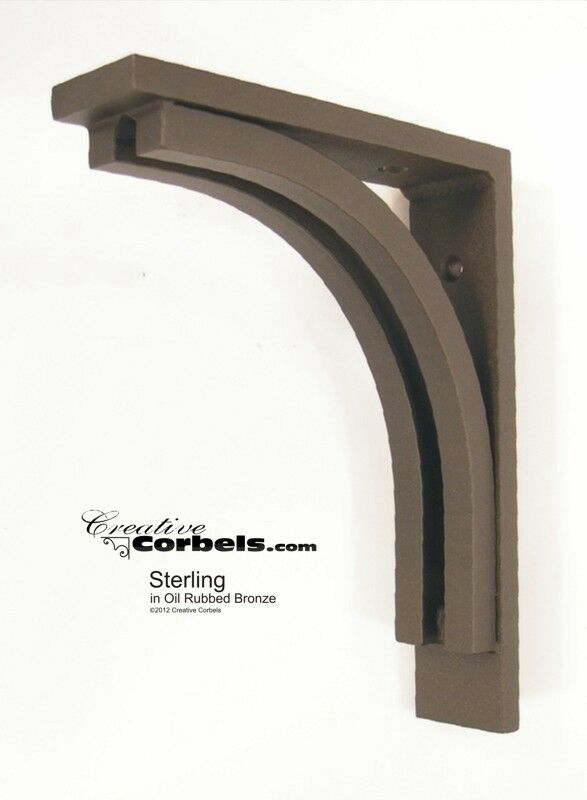 Wrought iron corbel bracket support for granite countertop for Granite countertops support requirements