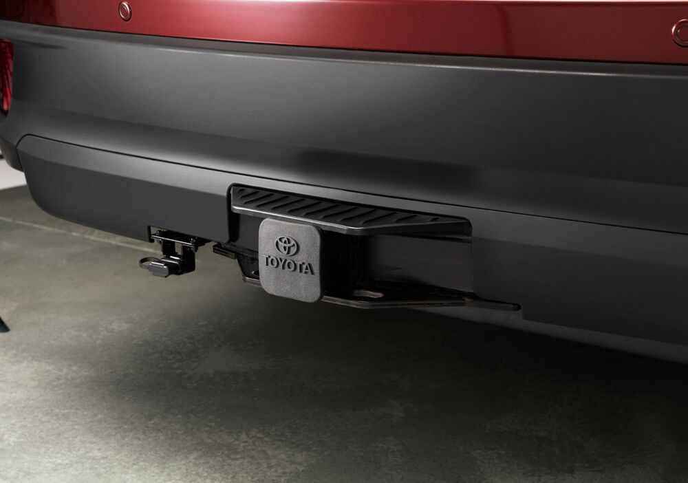 Details About Genuine Toyota Tow Hitch Receive For The 2017 Highlander New Oem