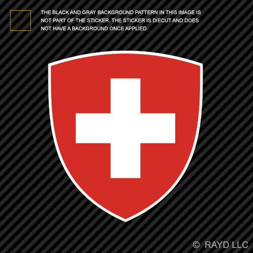 Swiss Coat Of Arms Sticker Decal Self Adhesive Vinyl