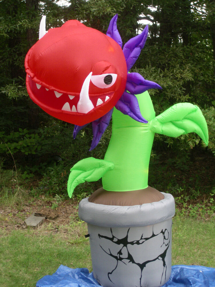 Blower For Inflatable Decorations : New gemmy tall lighted spooky halloween airblown