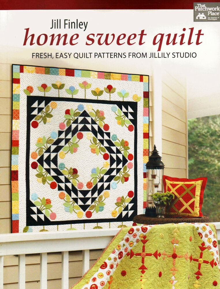 Home sweet quilt easy quilt design table runner pillows for Home sweet home designs
