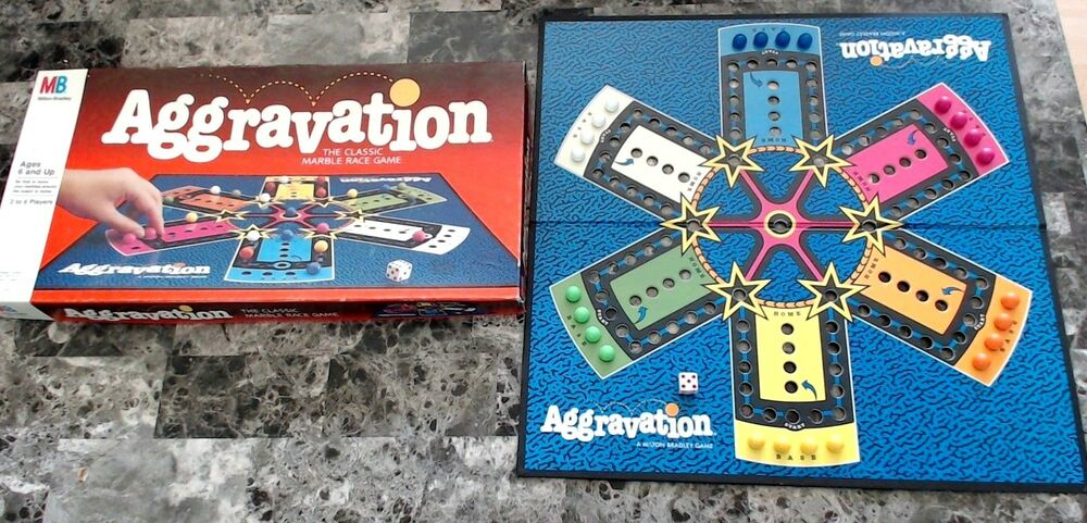aggravation vintage 70 game s board