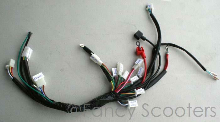 x 15 110cc pocket bike whole wire harness after market ebay