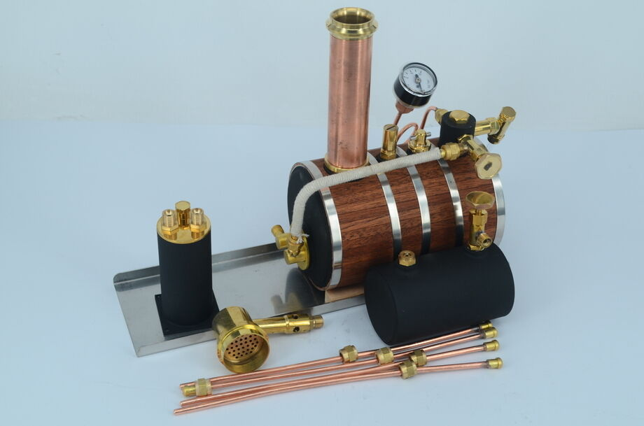 how to build a boiler for a steam engine