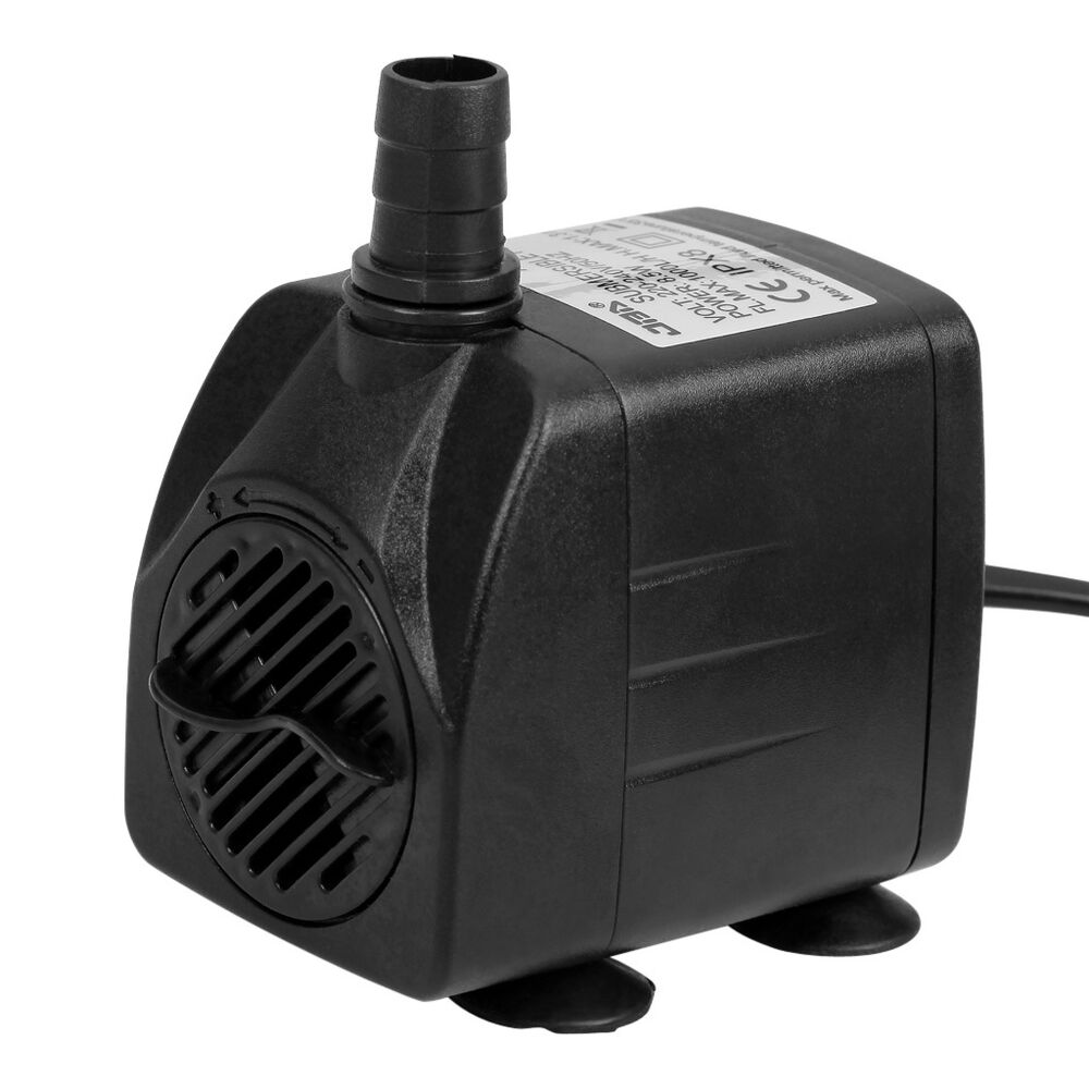 550l h aquarium aqua submersible water pump fish tank for Fish tank water pump