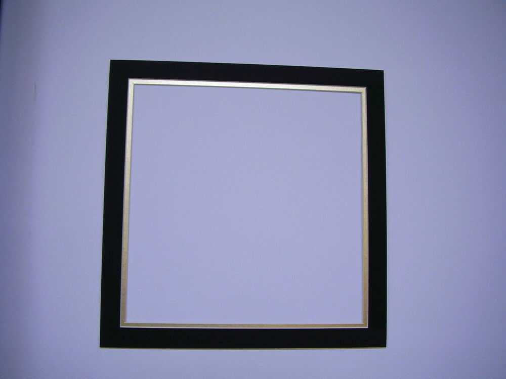 Picture Frame Double Mat 14x14 For 11 5x11 5 Photo Black
