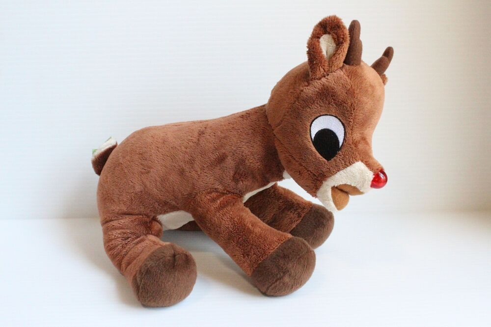 rudolph the rednosed reindeer clarice plush reindeer