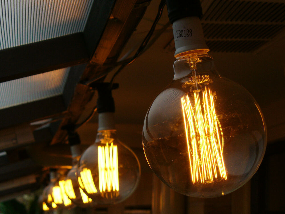 10 Piece Vintage Edison Festoon Party String Light Kit - Globes Included! eBay