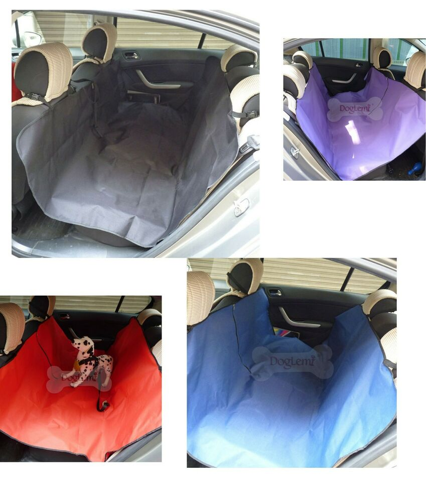 pet hammock for vehicle dog cat car seat blanket waterproof cover protector ebay. Black Bedroom Furniture Sets. Home Design Ideas