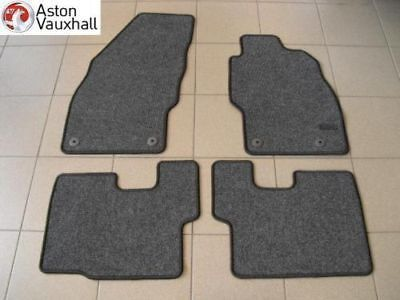 vauxhall corsa d 3 door floor mats set set of 4 genuine. Black Bedroom Furniture Sets. Home Design Ideas