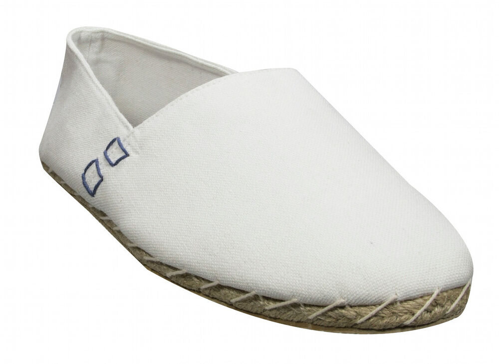 new soul cal mens white canvas espadrilles pumps slip on