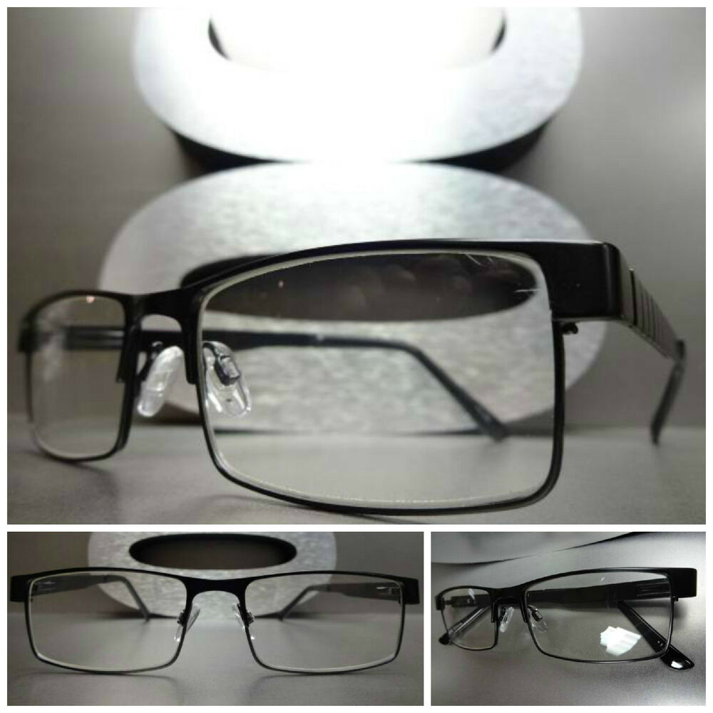 Mens Black Frame Reading Glasses : Mens or Women CONTEMPORARY READING EYE GLASSES READERS ...