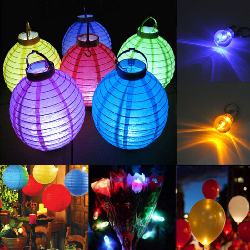 led battery bulbs lights for chinese paper lanterns wedding party. Black Bedroom Furniture Sets. Home Design Ideas