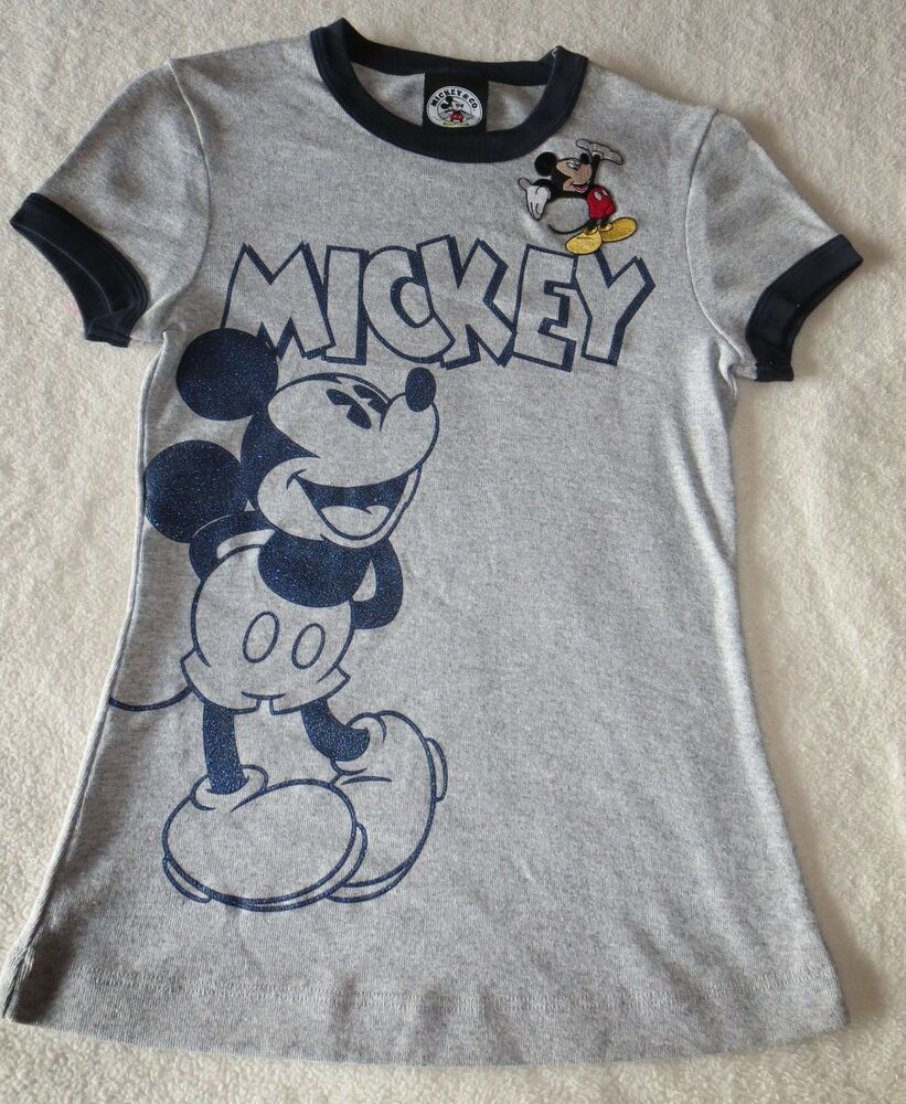 Estate disney classic tee shirt mickey co altered art